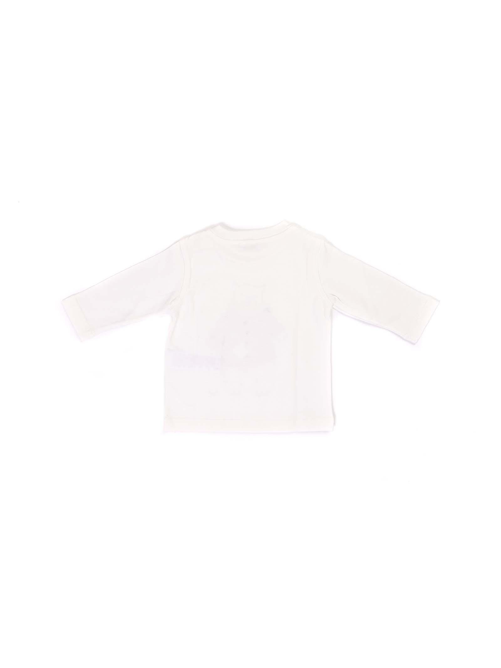 t-shirt bianco con orsetto IL GUFO | T-shirt | A20TA229M00941048