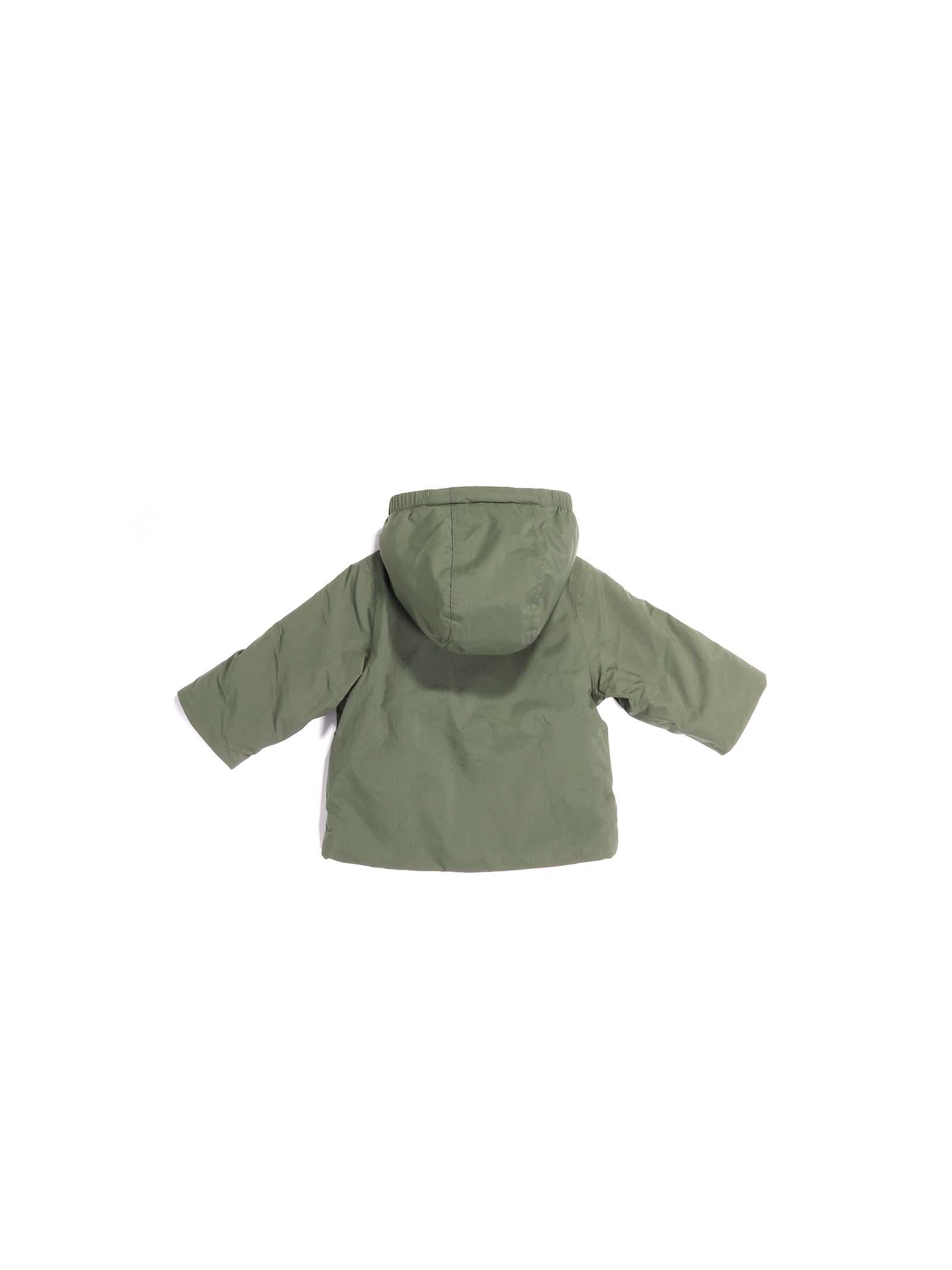 giubbino verde K-WAY | Giubbino | K1119KWA38