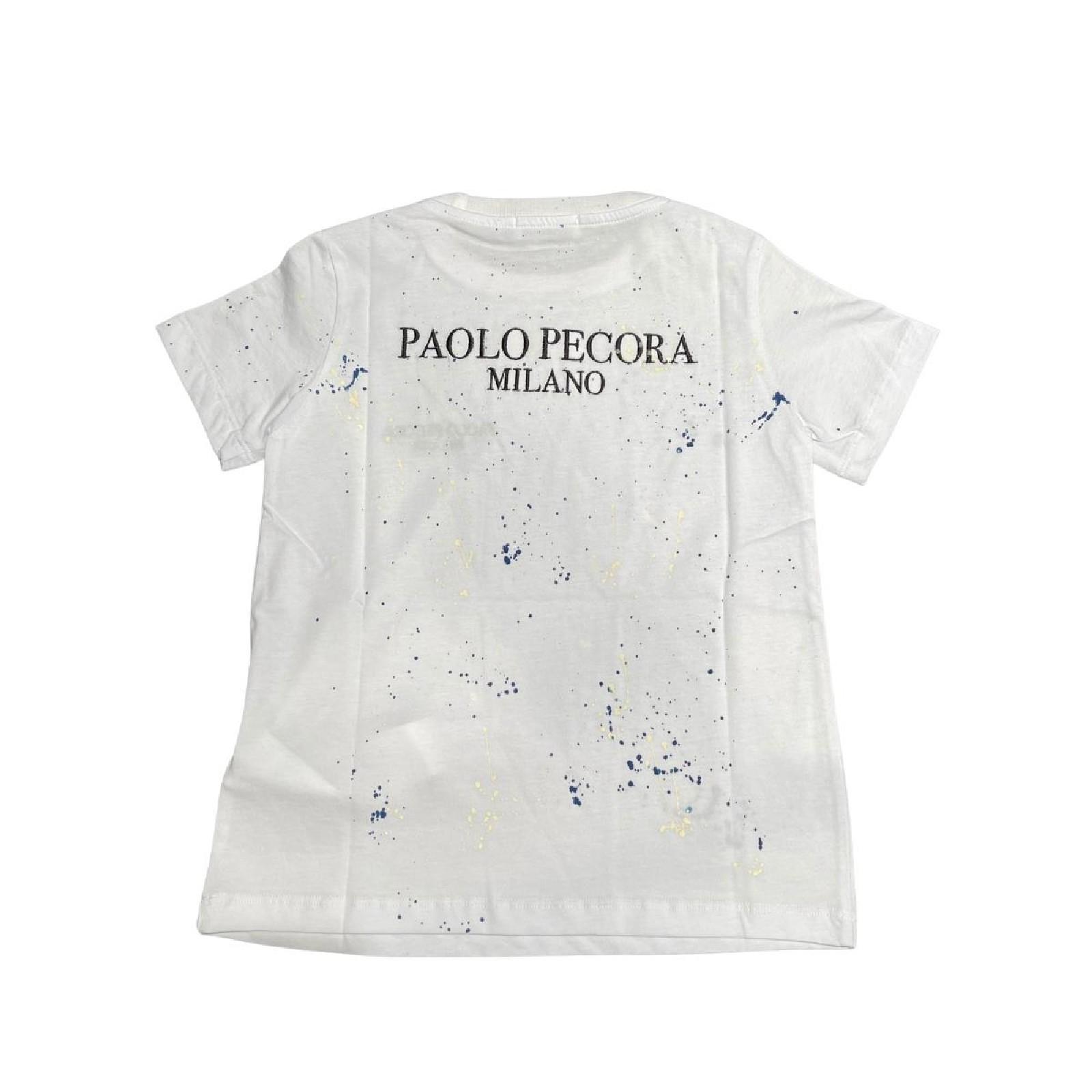 Paolo Pecora | T-shirt | PP2673BIANCO