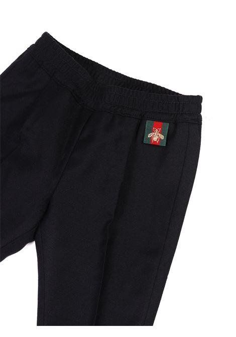 pantalone blu Gucci | Pantalone | 475406BLU/VERDE