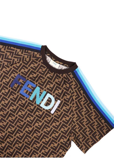 T-shirt logata jersey Fendi | T-shirt | JUI015 ACZSF1BWE