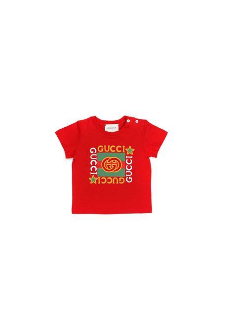 t-shirt con logo sul davanti Gucci | T-shirt | 548034 XJCPU6130