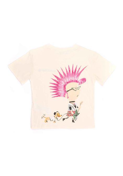 t-shirt bianca con disegno sul retro Gucci | T-shirt | 580991 XJCTH9756