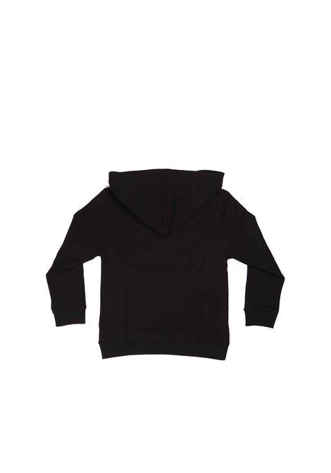 felpa nera con logo Gucci | Felpa | 611220 XJCP41152