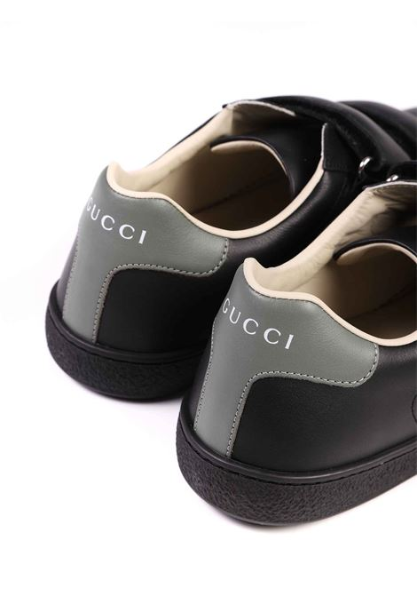 scarpe nere Gucci | Scarpe | 630619 BLN701065