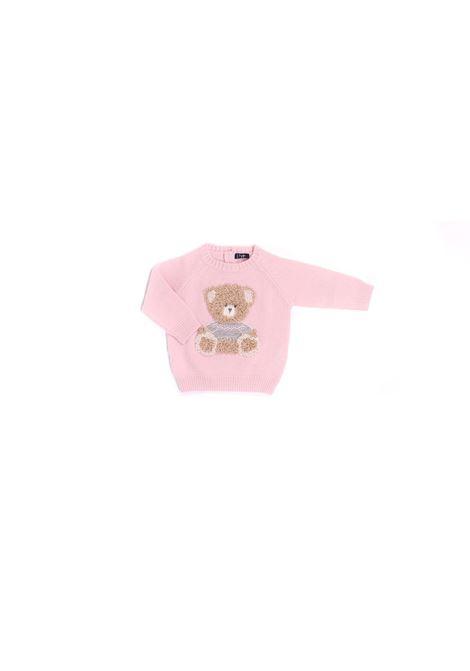 maglia rosa con orsetto IL GUFO | Maglia | A20MA334EM2203107