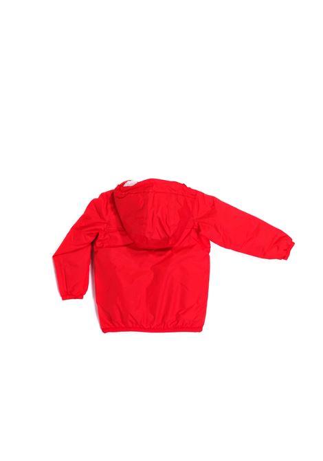 giubbino rosso K-WAY | Giubbino | K005DH0K08