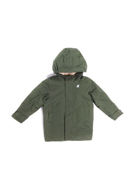 giubbino verde K-WAY | Giubbino | K1119UWA43
