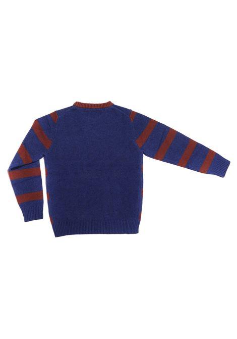 maglia blue e bordeux a strisce Paolo Pecora   Maglia   P2393ND