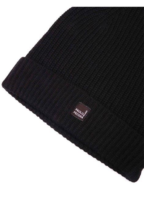 cappello nero Paolo Pecora | Cappello | P2516nero