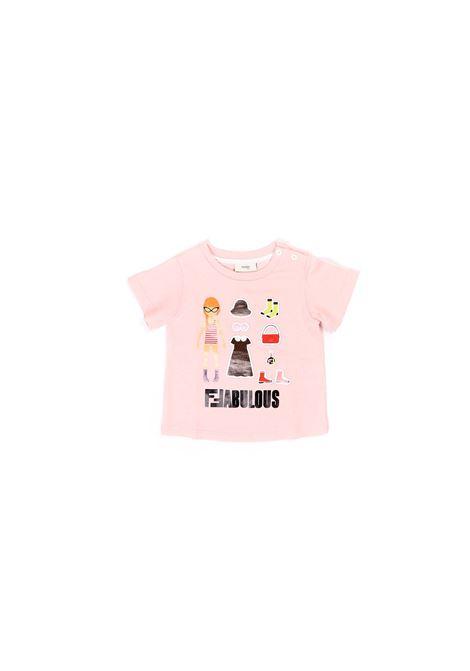 Fendi | T-shirt | BFI115 7AJF16WG