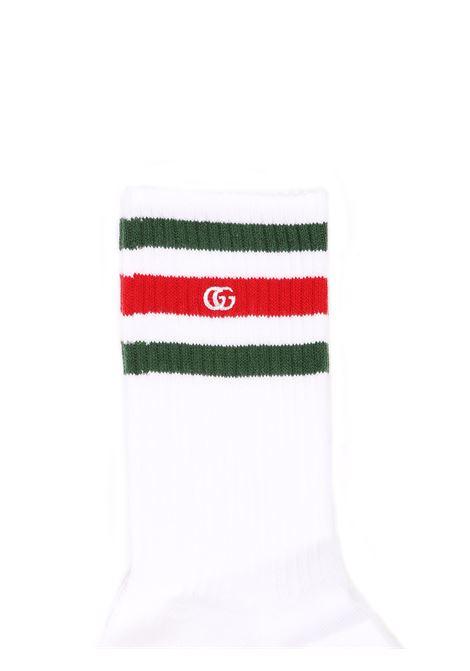 calzini con strisce e logo Gucci | Calzini | 459532 4K6679066