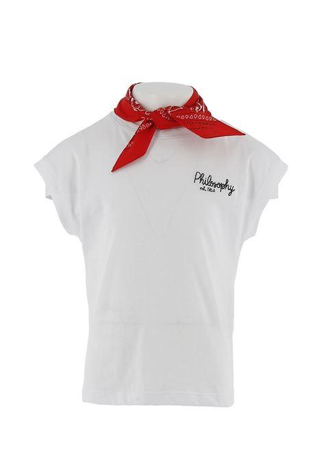 PHILOSOPHY | T-shirt | PJTS62-JE138-WH210B102