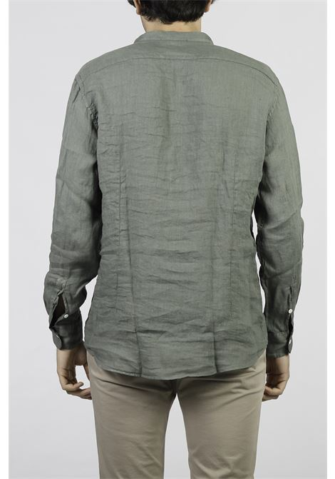 LINEN SHIRT AGLINI | Shirts | E701.72TCVERDE