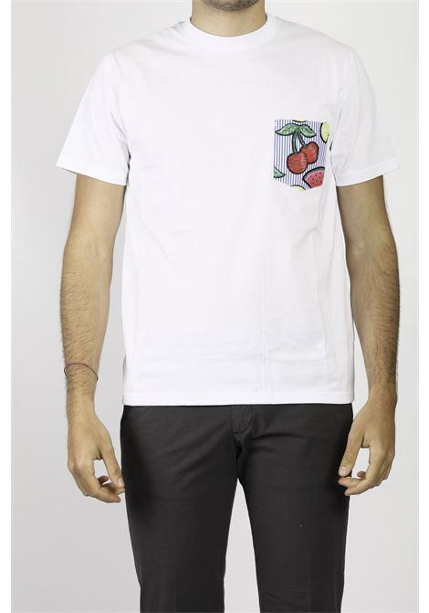 COTTON T-SHIRT DETWELVE | T-shirt | CU654CILIEGIA