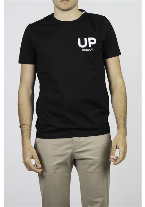 T-SHIRT IN COTONE DONDUP | T-shirt | US198-FJ0271U-BF4999