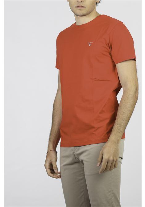 COTTON T-SHIRT GANT | T-shirt | 234100620