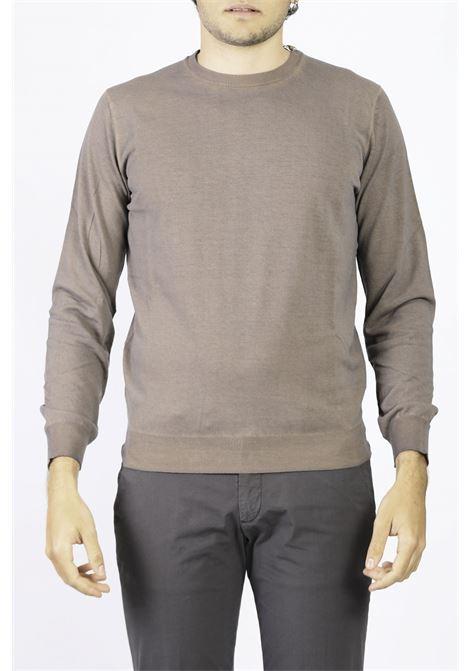 COTTON CREW NECK SWEATER KANGRA | Knitwear | 2005-0100060