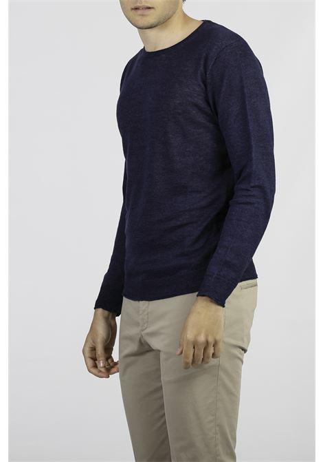 LINEN CREW NECK SWEATER KANGRA | Knitwear | 2013-0100742