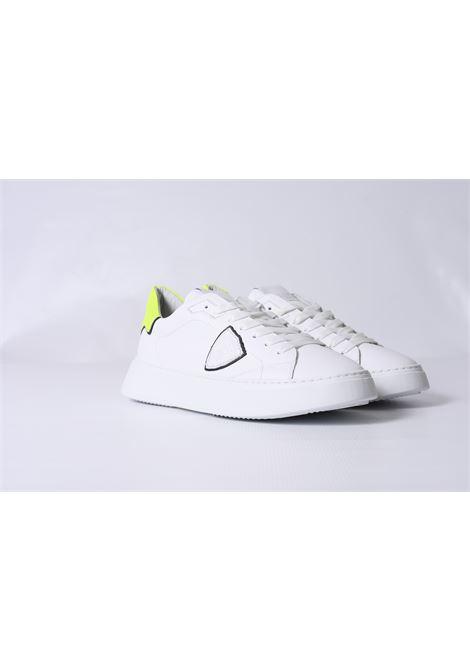 TEMPLE VEAU - BLANC JAUNE PHILIPPE MODEL | Shoes | BTLUVN10