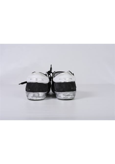 PRSX FOXY LAMINE' - NOIR ARGENT PHILIPPE MODEL | Shoes | PRLUMA01