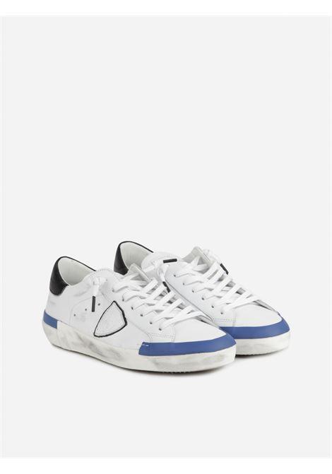PRSX VEAU COLLAGE - BLANC BLEU PHILIPPE MODEL | Shoes | PRLUVP10