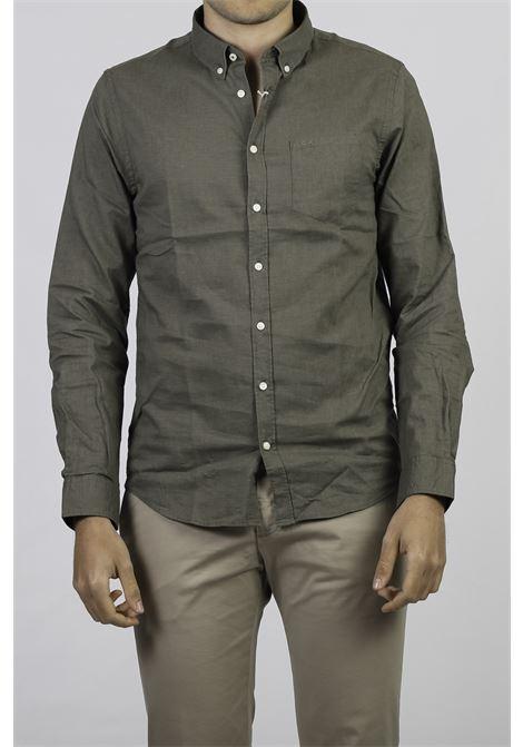 LINEN BLEND SHIRT SUN 68 | Shirts | S3110219