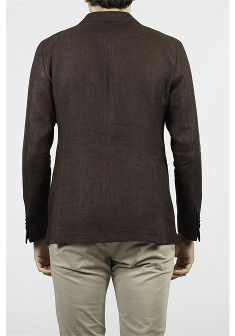 LINEN BLEND JACKET TAGLIATORE | Jackets | 1SMC22K-52UEG065M1019