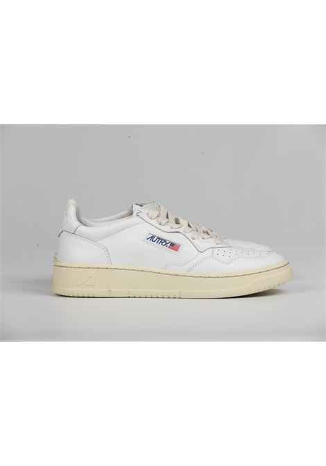 LOW MAN LEATHER ALL WHITE AUTRY | Shoes | AULMLL15