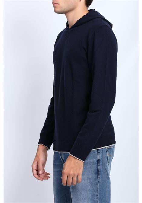 MERINOS WOOL HOODIE DANIELE FIESOLI | Knitwear | DF003524