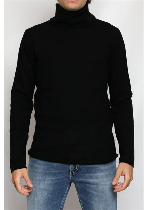CACHEMIRE TURTLENECK BLACK DANIELE FIESOLI | Knitwear | DF301113