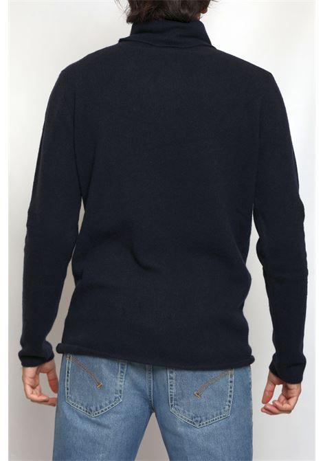 CACHEMIRE TURTLENECK BLUE DANIELE FIESOLI | Knitwear | DF301124