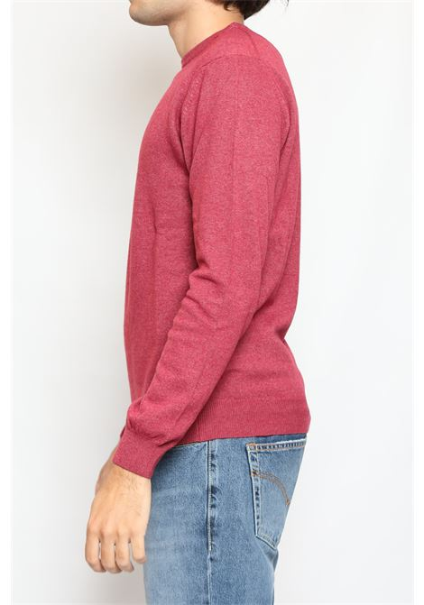 CACHEMIRE BLEND ROUNDNECK SWEATER BLUEBERRY DETWELVE | Knitwear | F-2281LR7175