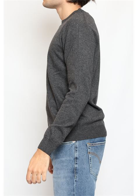 CACHEMIRE BLEND ROUNDNECK SWEATER GREY DETWELVE | Knitwear | F-2281LR7344
