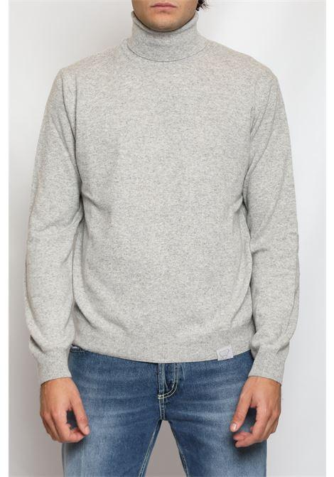 CACHEMIRE BLEND TURTLENECK GREY DETWELVE | Knitwear | F-22837141