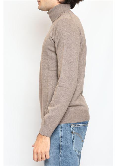 CACHEMIRE BLEND TURTLENECK WALNUT DETWELVE | Knitwear | F-22837319