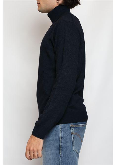 CACHEMIRE BLEND TURTLENECK BLUE DETWELVE | Knitwear | F-22837814