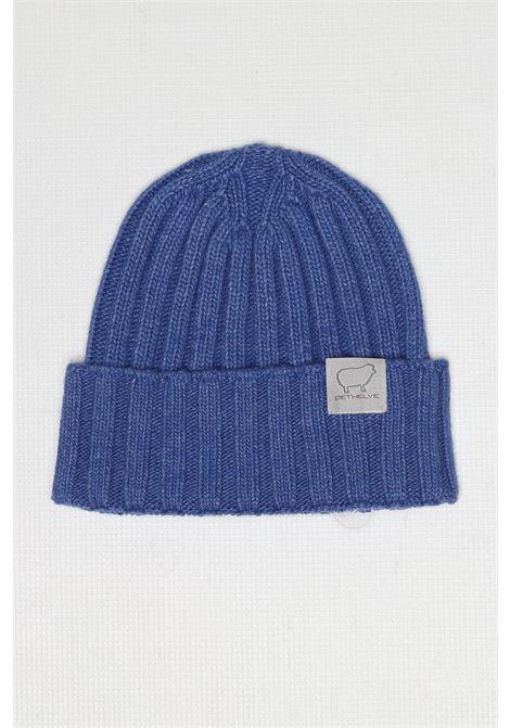 CACHMIRE BLEND HAT SAPPHIRE DETWELVE | Hats | F-50507117