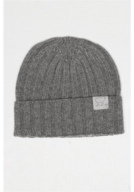 CACHMIRE BLEND HAT GREY DETWELVE | Hats | F-50507142