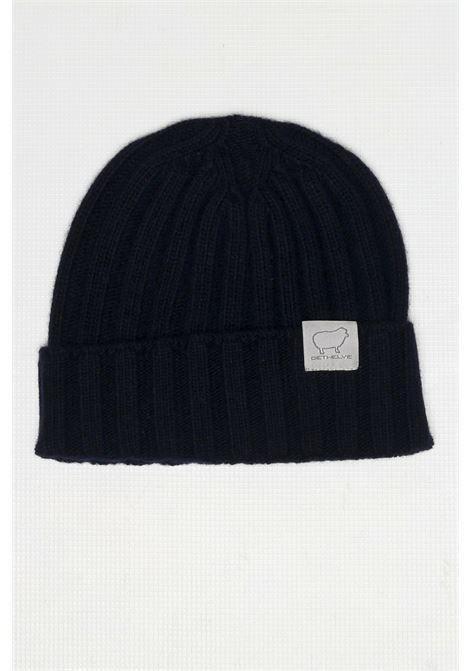 CACHMIRE BLEND HAT BLU DETWELVE | Hats | F-50507318