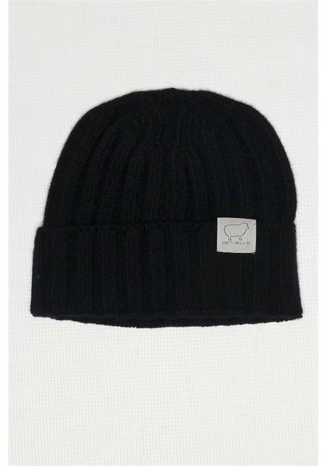 CACHMIRE BLEND HAT BLACK DETWELVE | Hats | F-50507390