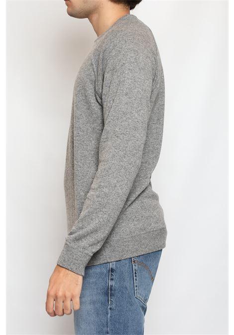 CACHEMIRE BLEND ROUNDNECK GREY DETWELVE | Knitwear | F-60427142