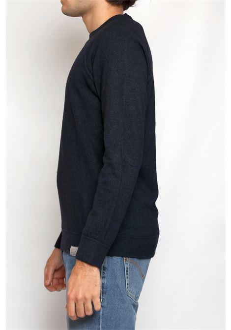 CACHEMIRE BLEND ROUNDNECK BLUE DETWELVE | Knitwear | F-60427814