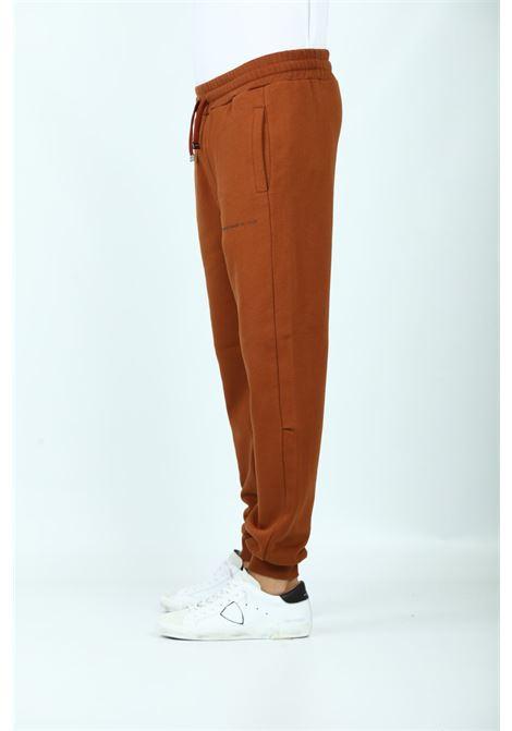 JOGGER IN FELPA DONDUP | Pantaloni | UF583-KF0202-BW6028