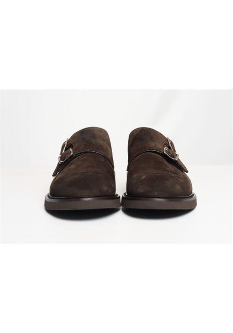SUEDE DOUBLE-BUCKLE SHOES DOUCAL'S | Shoes | DU1025VEROUF024TM00