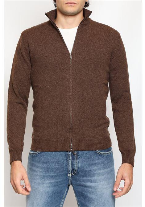 CACHEMIRE CARDIGAN FULL ZIP FRANCESCO PIERI | Knitwear | 02/FU105B51629