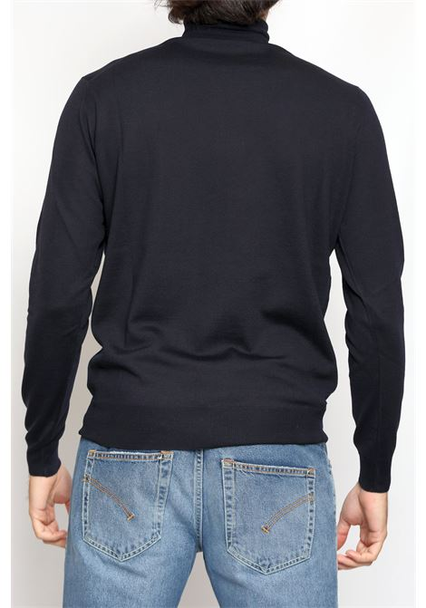 MERINO WOOL TURTLENECK BLEU FRANCESCO PIERI | Knitwear | FU03602008800