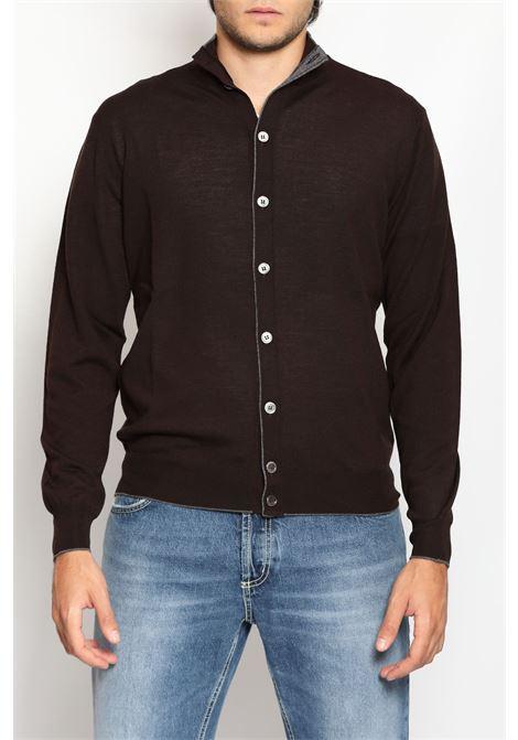 MERINOS WOOL BLOUSON FRANCESCO PIERI | Knitwear | FU03606C027098