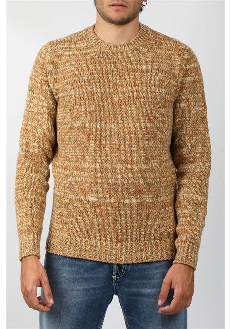 CASHMERE BLEND CREW NECK SWEATER FRANCESCO PIERI | Knitwear | FU423008809