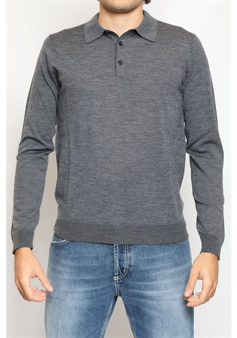 WOOL POLO GREY JEORDIE'S | Polo | 30621781